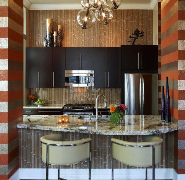 cuisine design 6 mètres