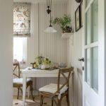 intérieur de cuisine 6 mètres carrés