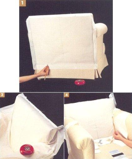 comment coudre une housse de chaise