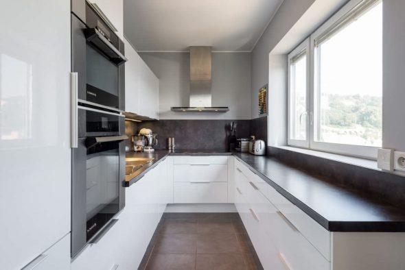 cuisine design 6 carrés. m