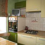 cuisine 6 mètres carrés de meubles