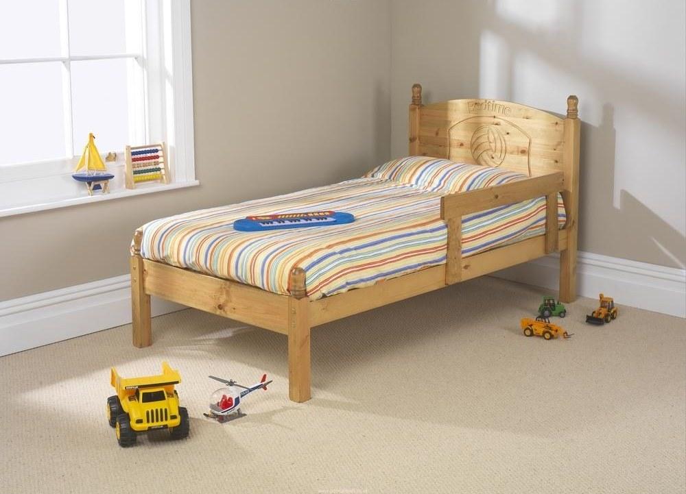 lit simple pour enfants
