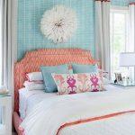 Stijlvolle en aantrekkelijke wanddecoratie in de slaapkamer