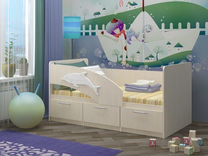 conception de lit de dauphin