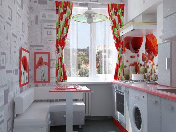 keuken met sofa