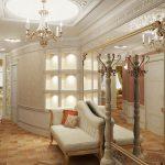 style de couloir classique