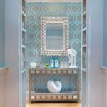 miroir dans la conception du couloir