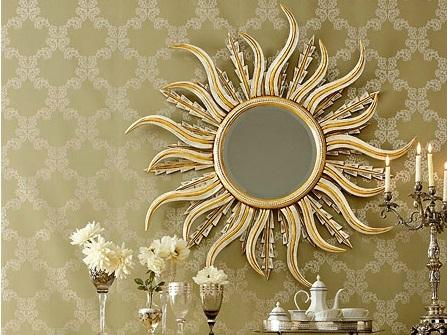 miroir de beauté