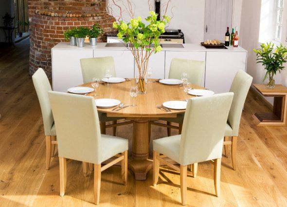 table de cuisine ronde