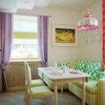 keuken met sofa ontwerp