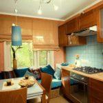keuken met bankfoto
