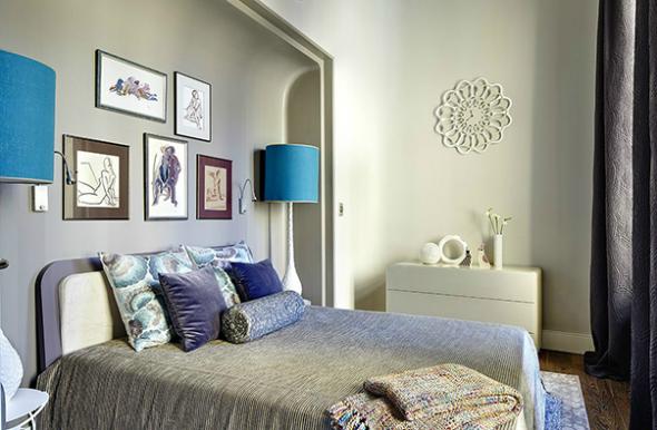 slaapkamer van het project
