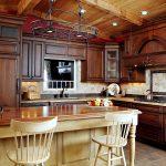 hauteur de la table dans la cuisine photo