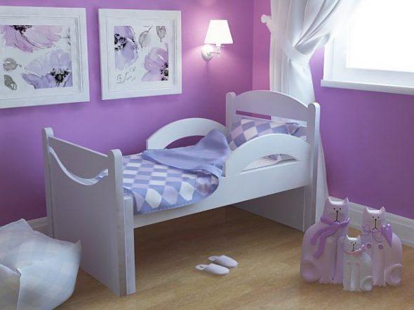 lit d'enfant pour les filles