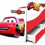 Lits pour enfants avec personnages de dessins animés Disney en stock