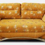 Canapé-lit à usage quotidien avec matelas orthopédique et régulier