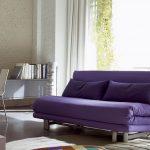 Canapé-lit violet