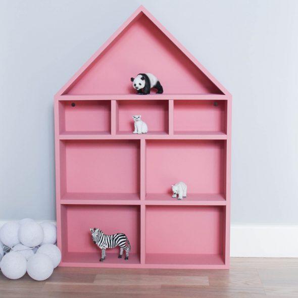 talon hylly vaaleanpunainen