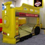 Locomotive à vapeur à lits superposés