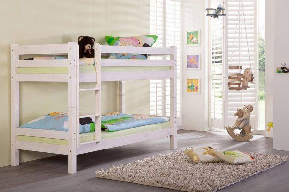 Lits superposés dans la conception des chambres d'enfants