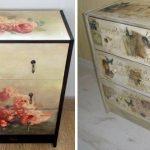 Idées pour la restauration de meubles soviétiques de leurs propres mains