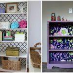 Intéressant réusinage de vieux meubles, avant et après