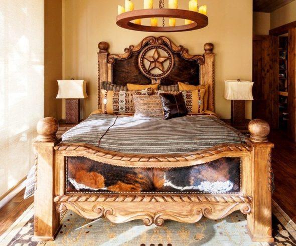 conception de lit en bois