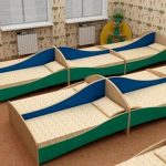 Meubles pour lits de jardin d'enfants
