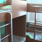 Meubles pour le lit de la maternelle à 2 niveaux