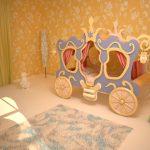 Meubles pour un lit d'enfant le chariot