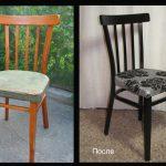 Nouvelle vie de chaise