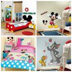 Accessoires originaux pour chambre d'enfant Disney