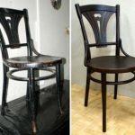 Restauration de chaises viennoises
