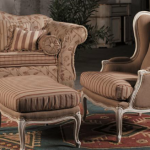 chaise anglaise beige