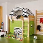 chambre d'enfants pour un petit fan de football