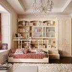 chambre d'enfants de style provençal