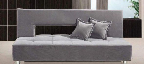 canapé-lit avec matelas orthopédique dans la conception