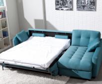 canapé-lit avec matelas
