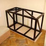 cadre métallique pour armoires