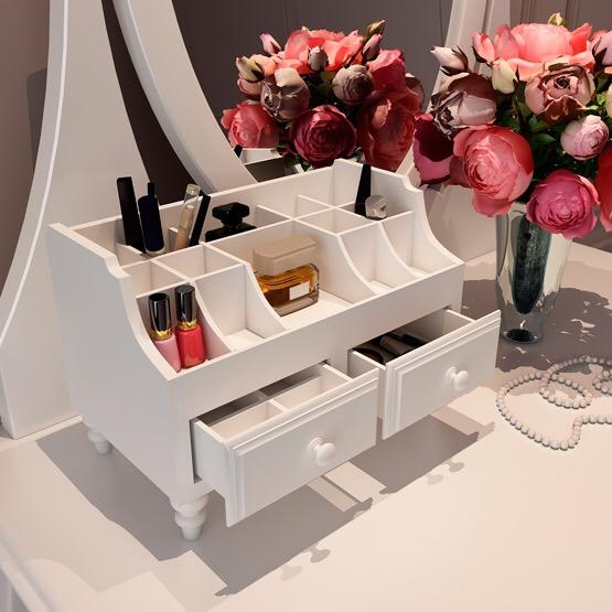 idées de design de commode pour les cosmétiques