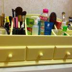 Commode pour cosmétiques vert