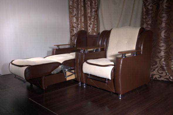 fauteuils-lits à l'intérieur