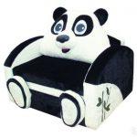 Fauteuil M-Style Panda Blanc-Noir