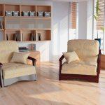 fauteuil-lit avec matelas orthopédique