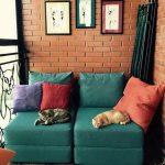 chaise de lit confortable