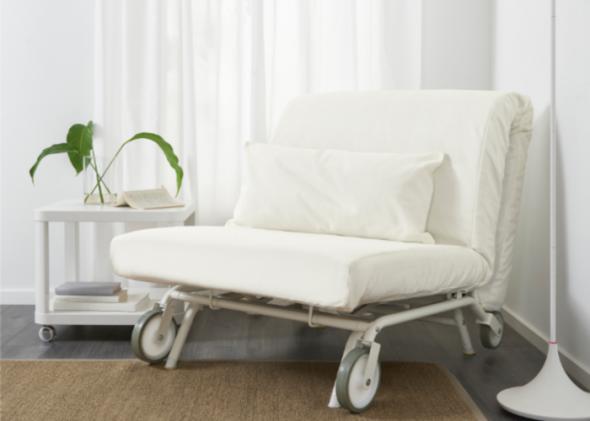 fauteuil-lit d'Ikea