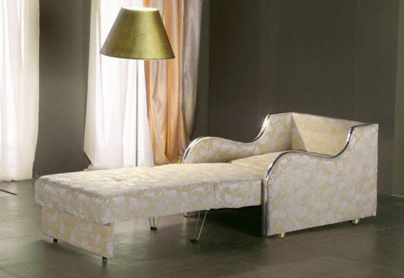 fauteuil lit à l'intérieur