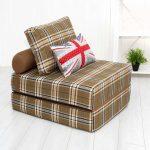 chaise de lit de style britannique