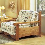 Chaise de lit de style oriental