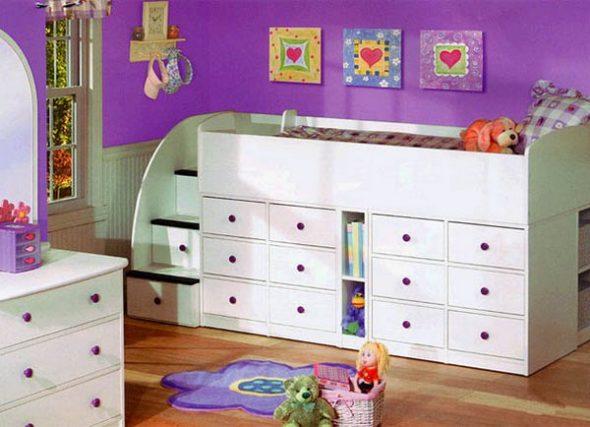 lits pour chambre d'enfant photo